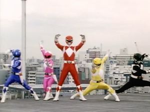 Yay! Power Rangers!