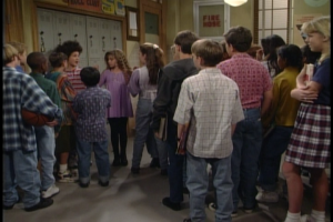 "Surely Topanga could have led them in protest songs.  ""WAR!"" maybe?"